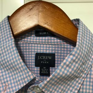 J Crew dress shirt flex